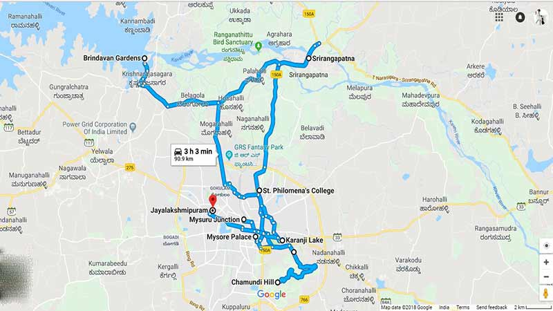 mysore-location-map